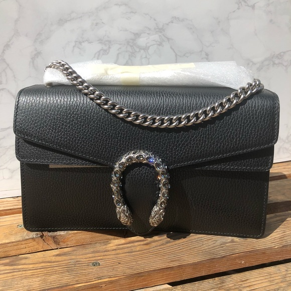 2697d5917783 Gucci Bags | Dionysus Small In Black Leather | Poshmark